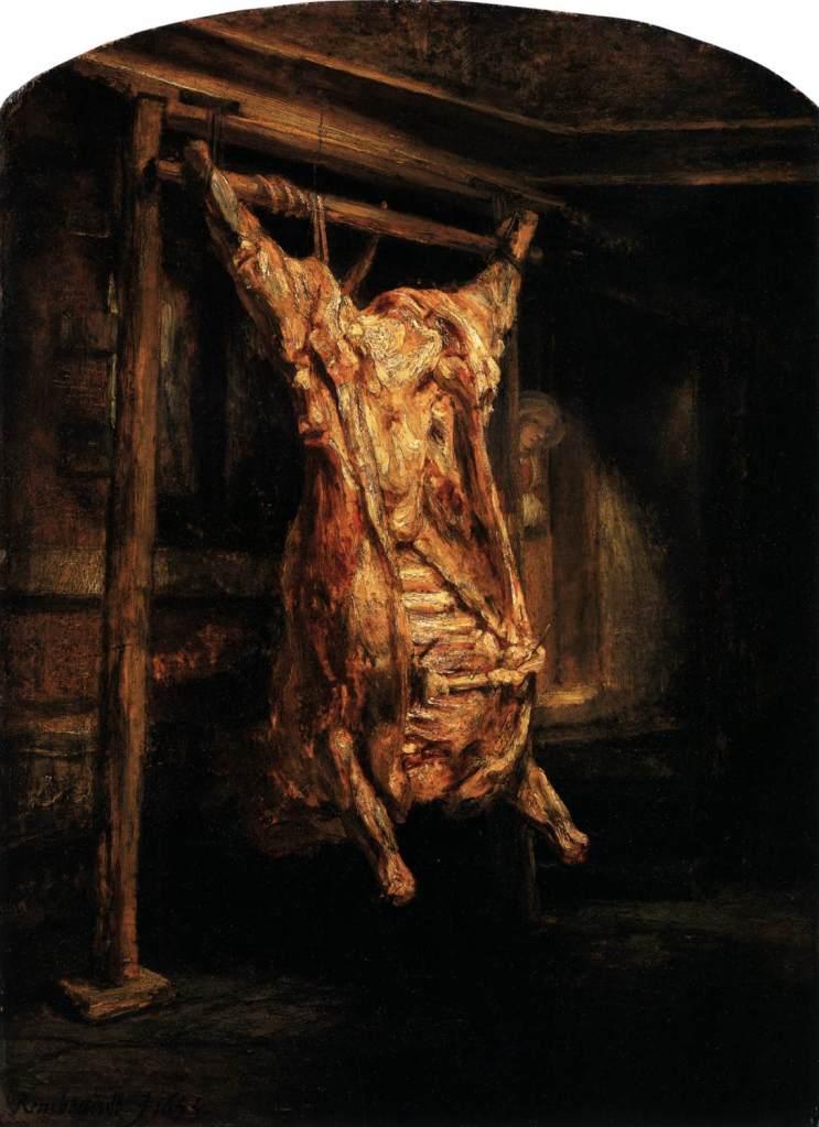 Rembrandt-le boeuf écorché